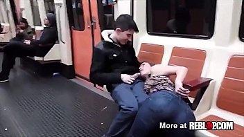 hd public blowjob barcelona subway