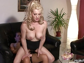 his czech fucks big tits blonde mom