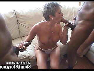 huge cock story party black big cock interracial milf