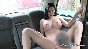 huge fake tits milf bangs in fake taxi