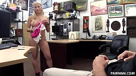 Czech girl flashes her big tits and nailed for alot of cash