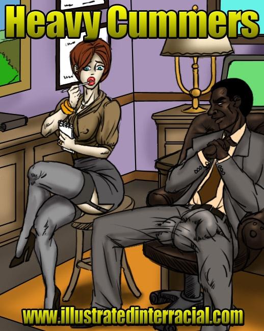 Free Interracial Toons - interracial bikini conspiracy free adult comix 14 - MegaPornX