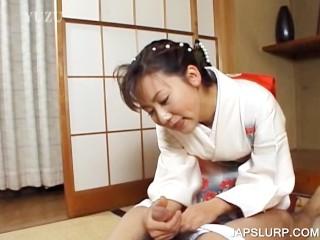 Japanese Geisha Nude - japanese geisha rubbing cock - MegaPornX