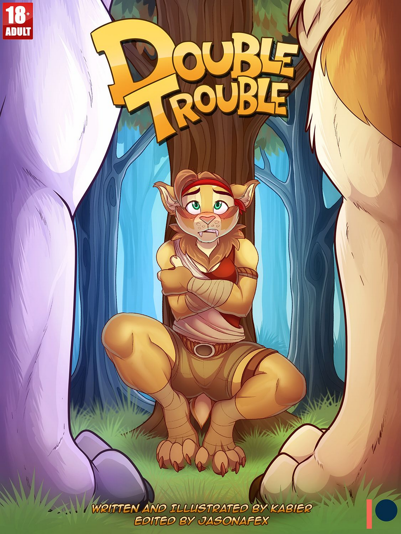 Lesbian Strap On Fun Furry Yiff Animation Jasonafex Kabier Flash Game 2