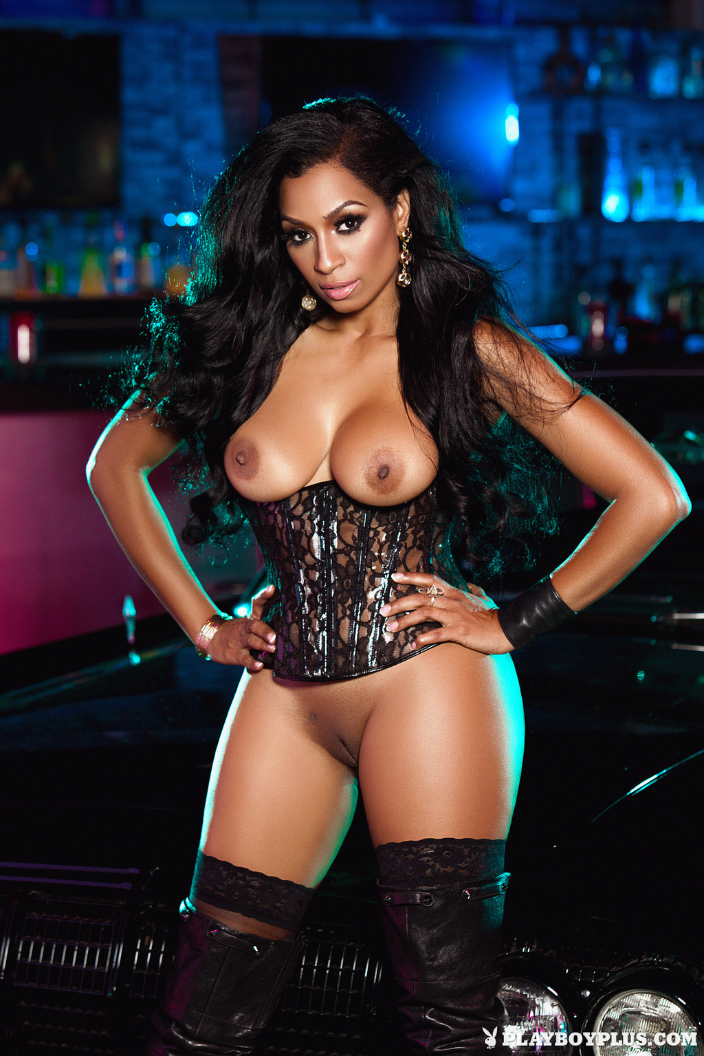 Black Playboy Girls Nude
