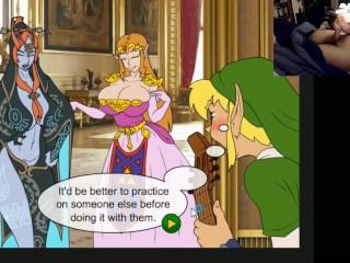 Legend Of Zelda Zelda Sexy - princess zelda games porn - MegaPornX