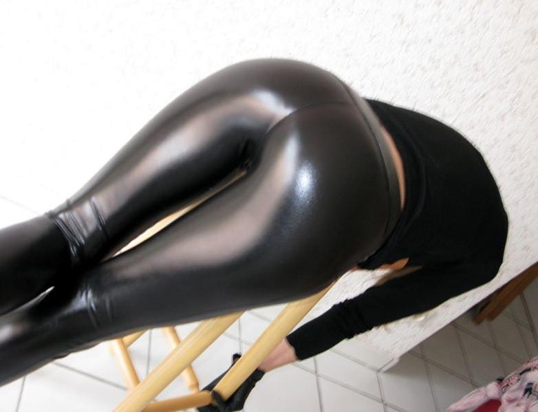 Sexy Latex Leggings Porn