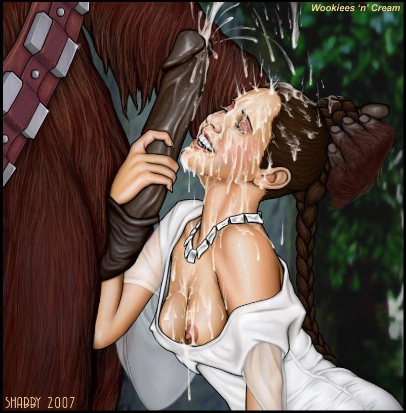 Hentai prinzessin leia Princess Leia
