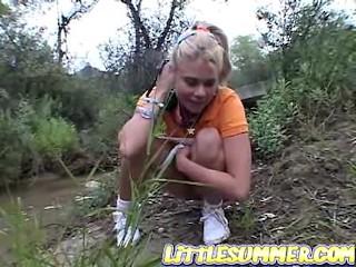 Summer nackt little Sweet lesbian