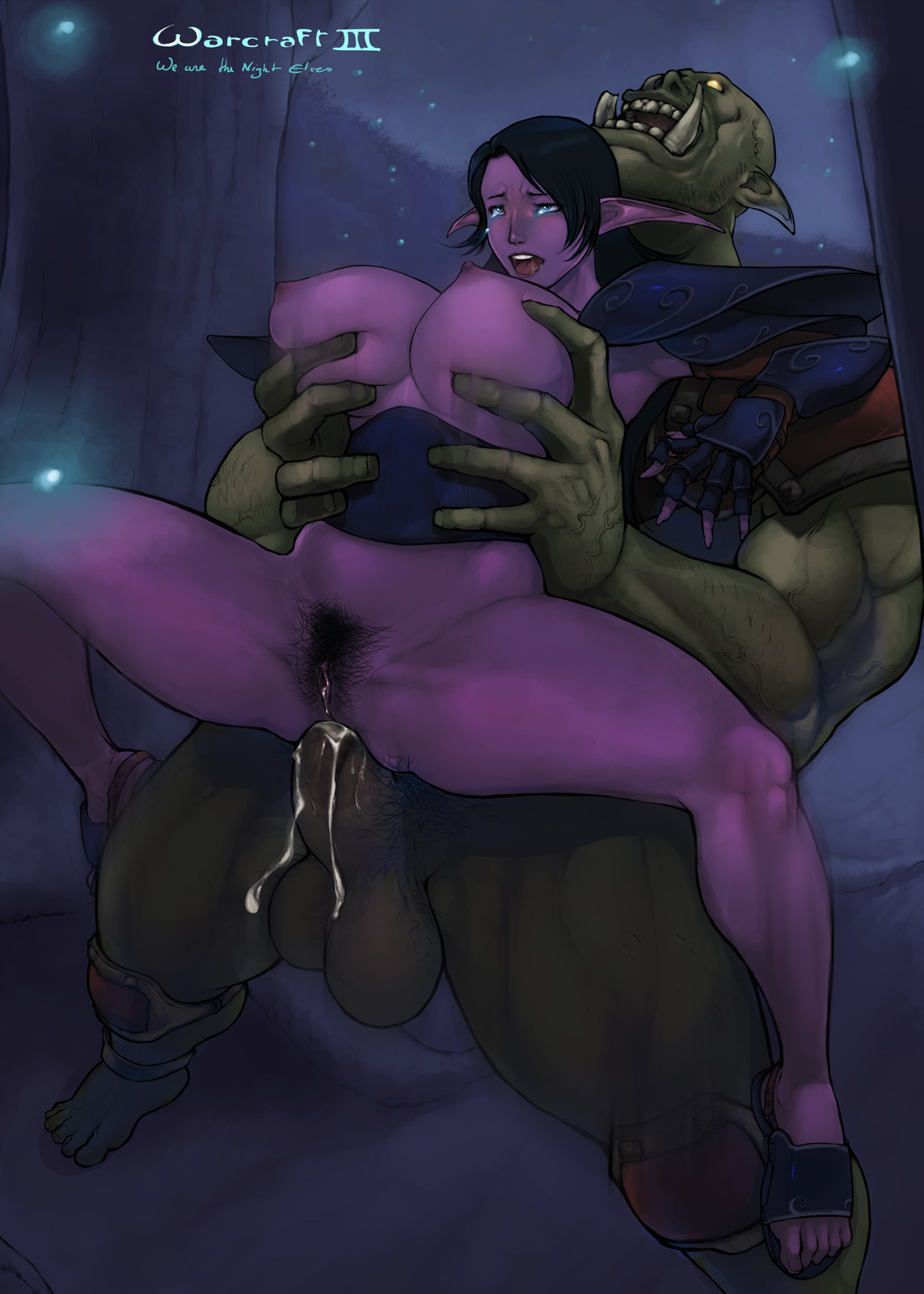 Wow night elf hentai