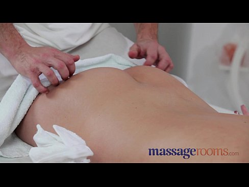 massage rooms year old beauty gets a squelching pussy before epic fuck 2