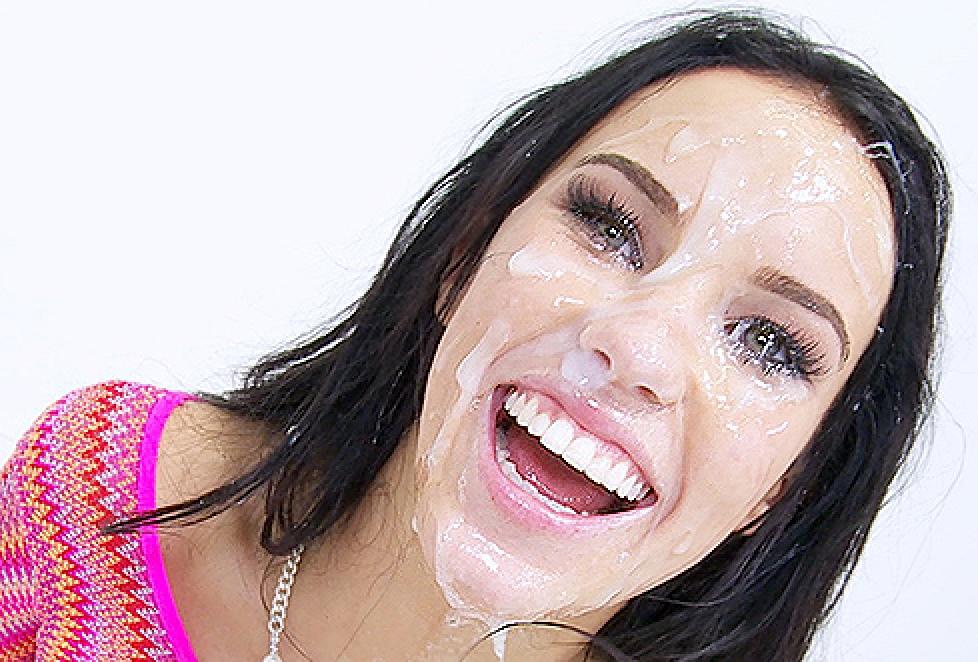 Megan rain cumshot