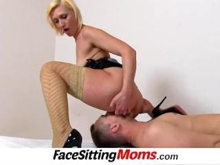 milf with boy facesitting feat czech mature dita