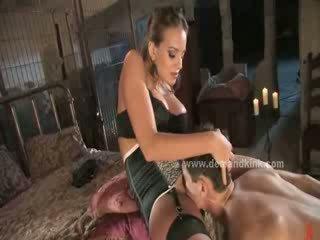 Mistress Ashley Edmonds Milks Her Sex Slave For A Self Facial Meanhandjobs