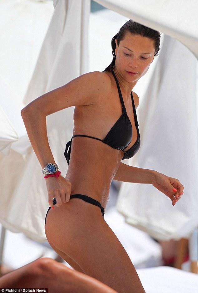 new to the scene brazilian model julia pereira caused waves when she appeared on miami