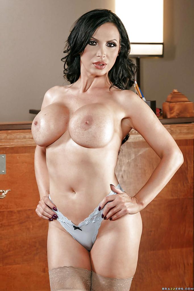 nikki benz brunette porn chesty brunette abbe nikki benz flaunting large fake tits jpg