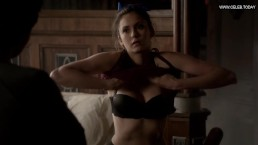 nina dobrev shower lingerie sexy cleavage the vampire diaries 3