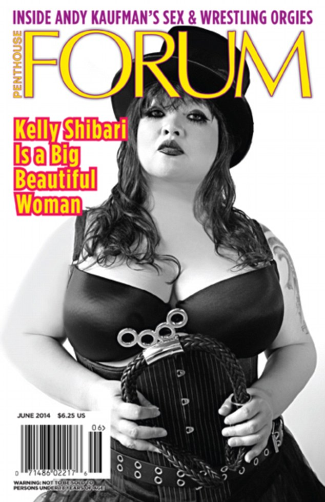 not new to the brand she previously appeared on the cover of penthouse forum