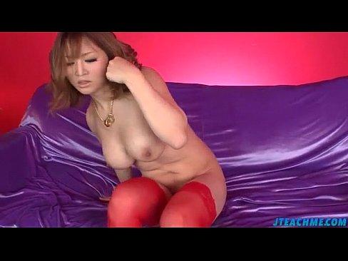 nozomi hazuki provides titjob during toy porn