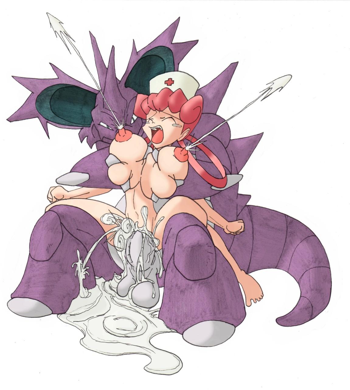 Pokemon schwester joy nackt