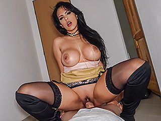 official busty latina rides big fat cock video public agent