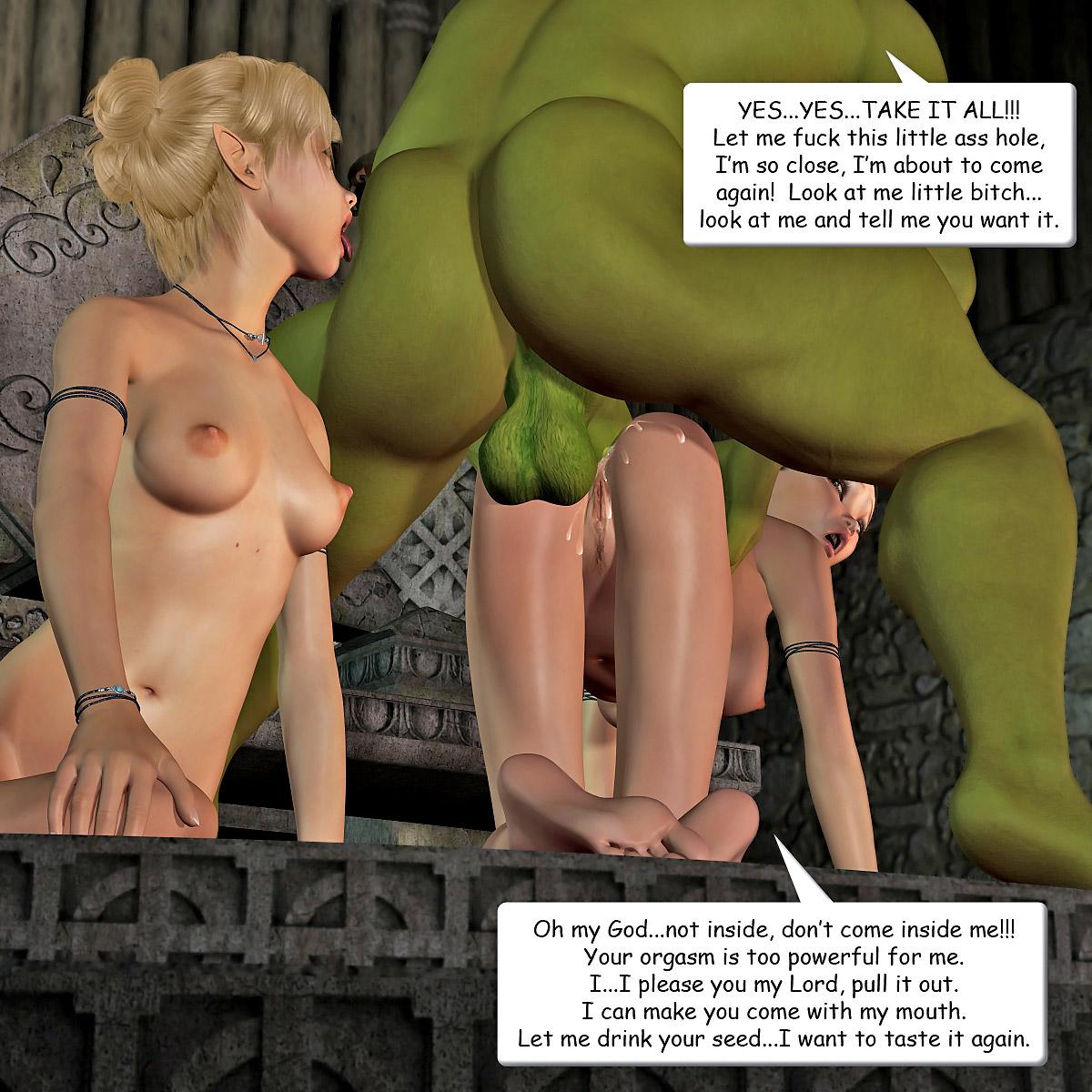 Anal Girl in Ogre