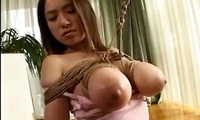 pink panty bound asian