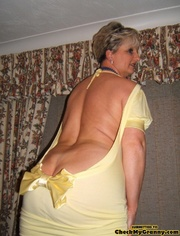 playful granny yellow short years ago pics xxxdessert