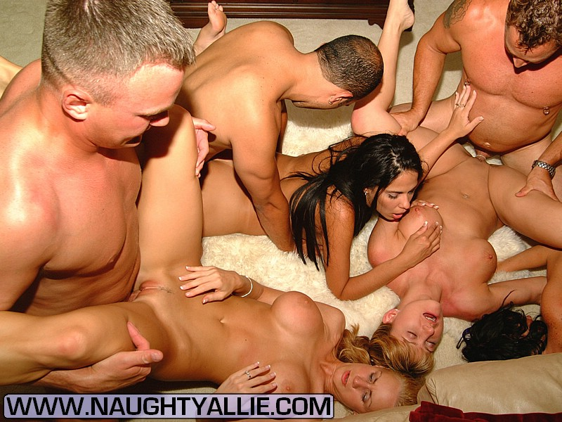 Young shaved and spread