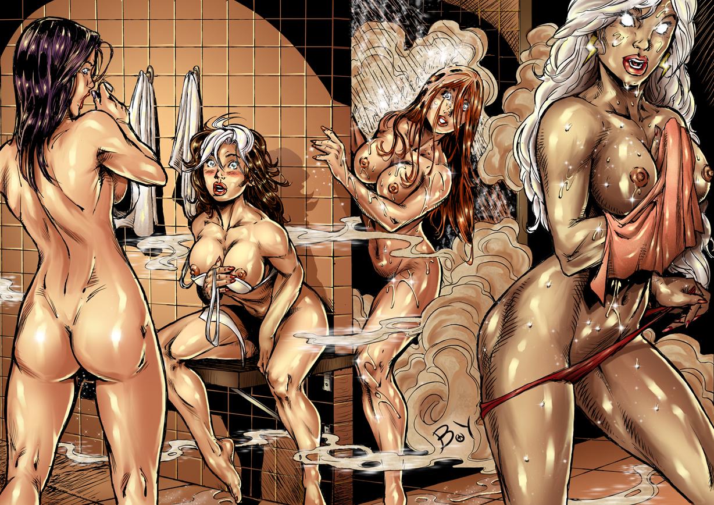 Sexy nackt Superheroes Marvel Pics