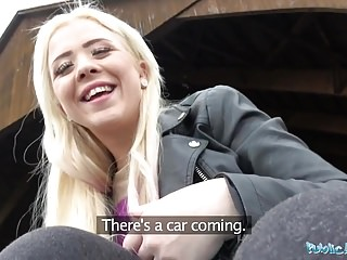 public agent outdoor orgasms for serbian beauty porn tube video
