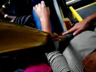 Bus touch dick free tubes look excite and delight