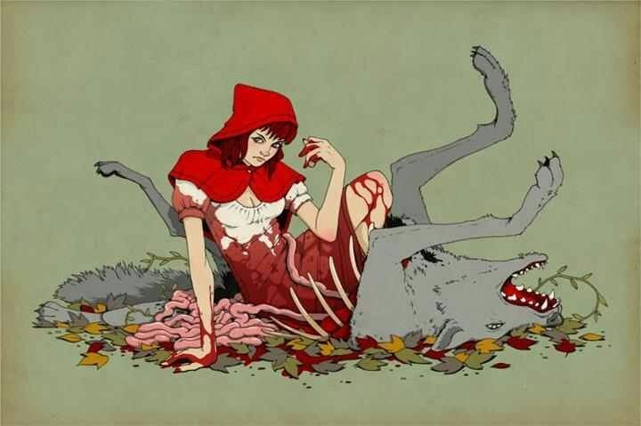Red riding hood porn vintage not