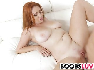redheads with huge tits are the best
