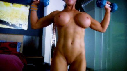 Big tits wokout motivation Samantha Kelly Big Tits Fitness Camgirl Nude Workout Megapornx