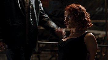 scarlett johansson avengers cleavage 4
