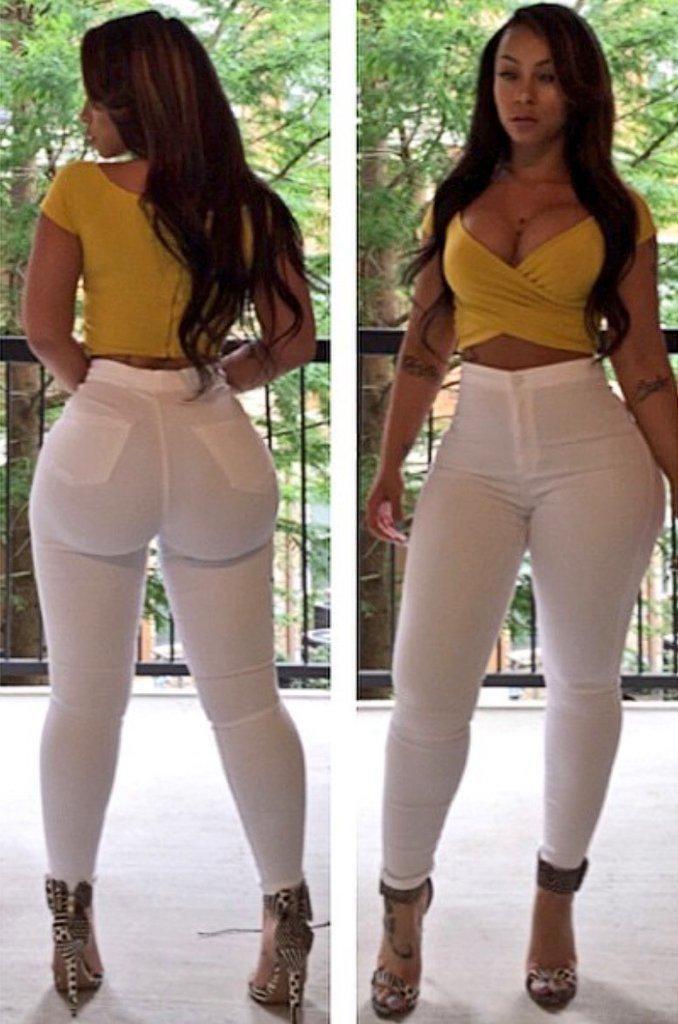 Skinny Black Girl Big Booty