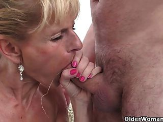 sexy senior lady with big tits gets fucked outdoors tmb 1