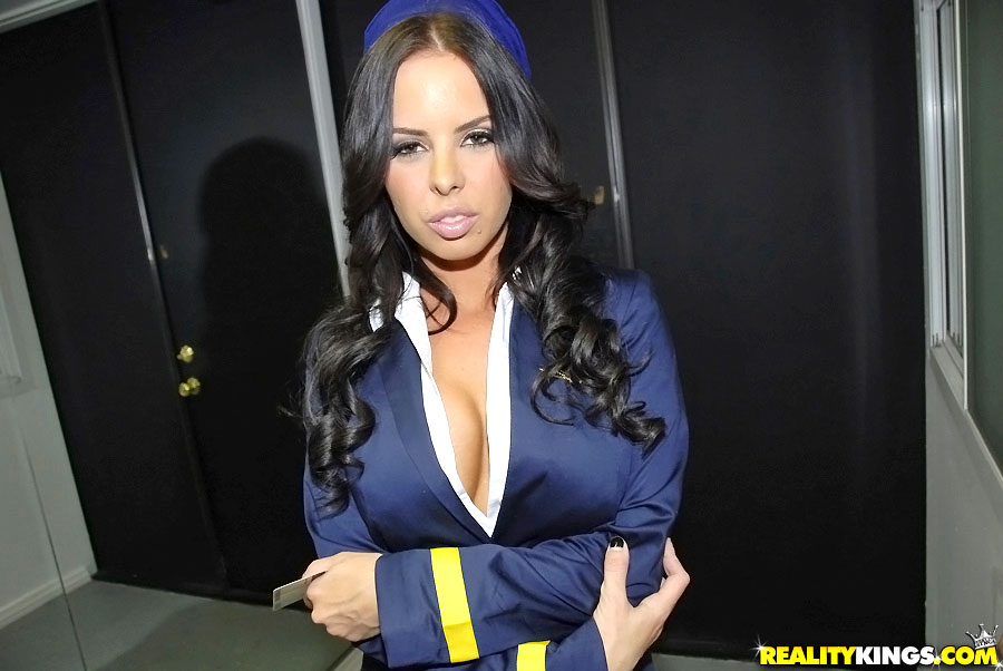 Sexy Stewardess - sexy flight attendants porn - MegaPornX