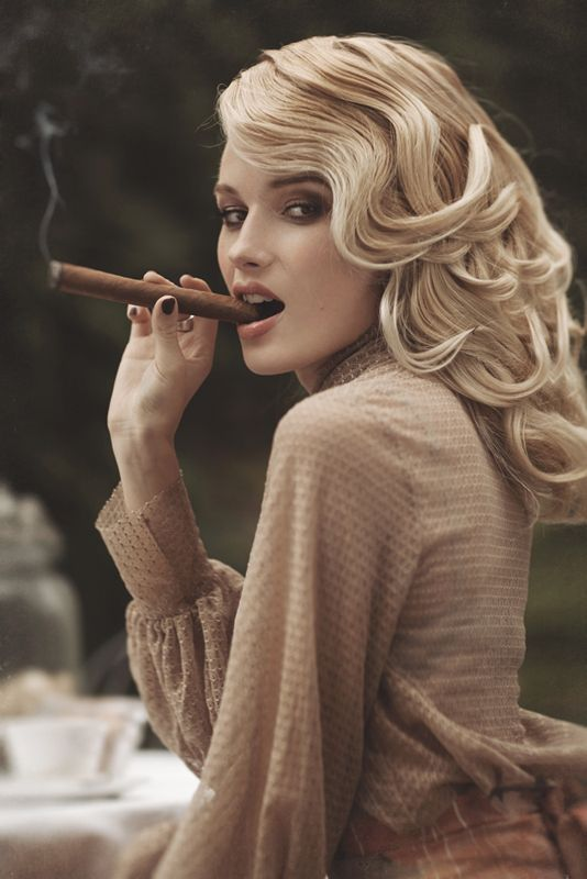 sexy women cigars pinterest cigar woman and smoking 1