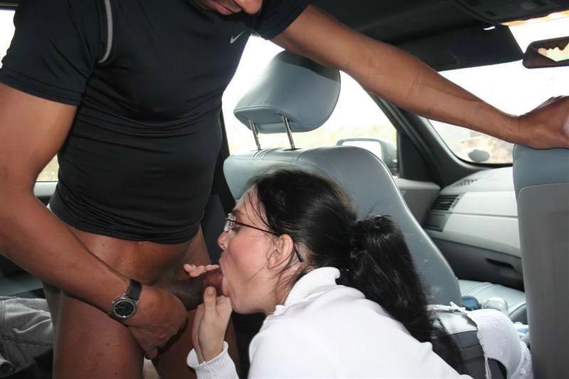 Chubby Teen Masturbates Car