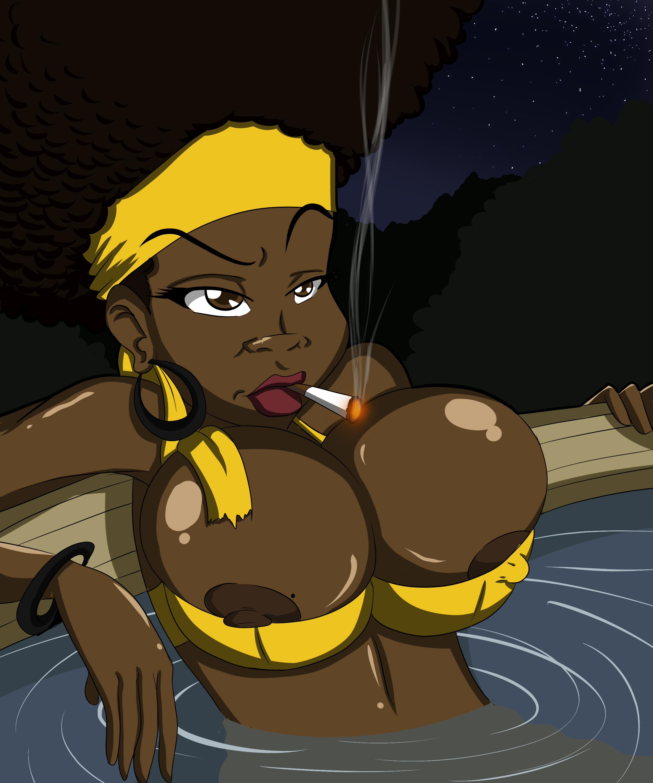 Sexy African American Cartoon