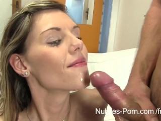 skinny sindy vega loves warm cum