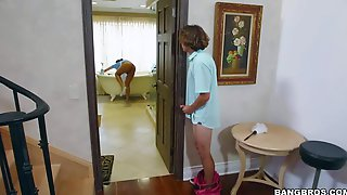 son mom son mom julia ann catches her step son spying