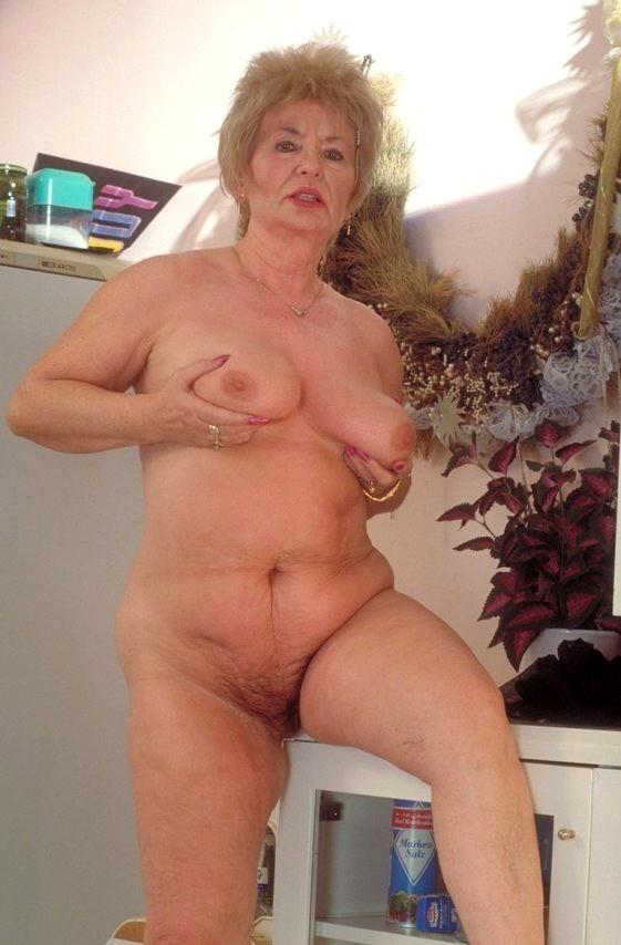 Hairy fat grannys