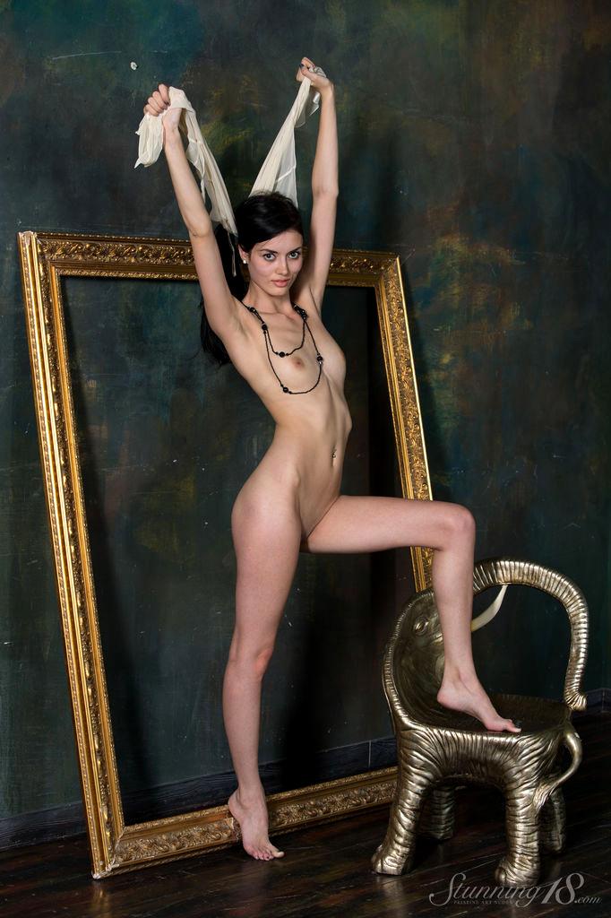 stunning alma watch brunette nudepee porn pics