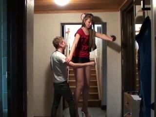 Short tall sex and girl man Tall @