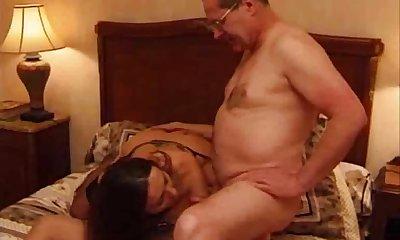 Threesome sex tube