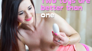 two toys are better than one lovevrsex porn video virtual reality