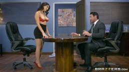 valentina nappi gets a hardcore office fucking brazzers
